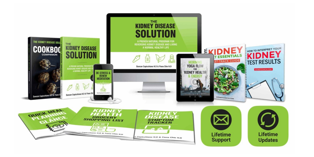 The Kidney Disease Solution Review: 100% Natural Based Program?
