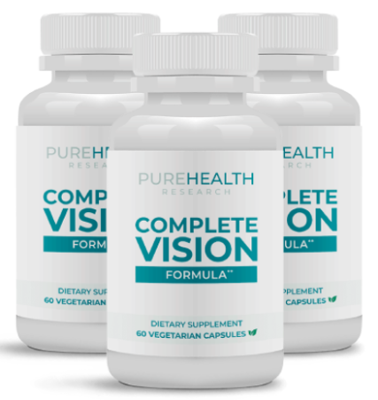PureHealth Research Complete Vision Formula Reviews