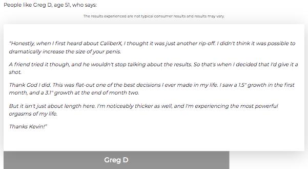 CaliberX Testimonials