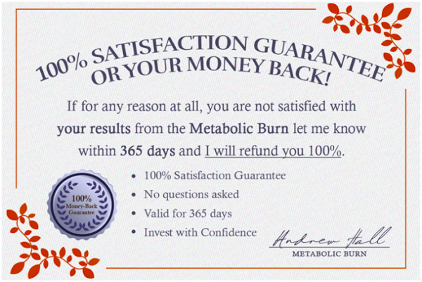 The Metabolic Burn Book Reviews