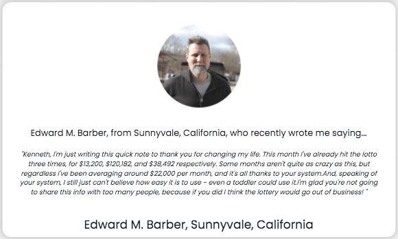 Lottery Defeated Software Testimonials