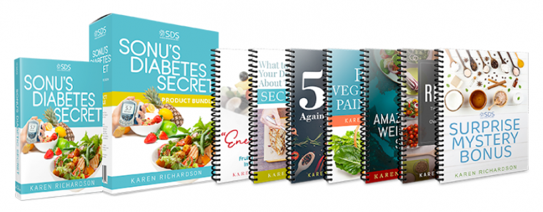 Sonu's Diabetes Secret Program Book