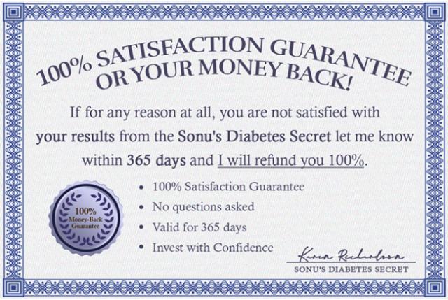 Sonu's Diabetes Secret Reviews reviews