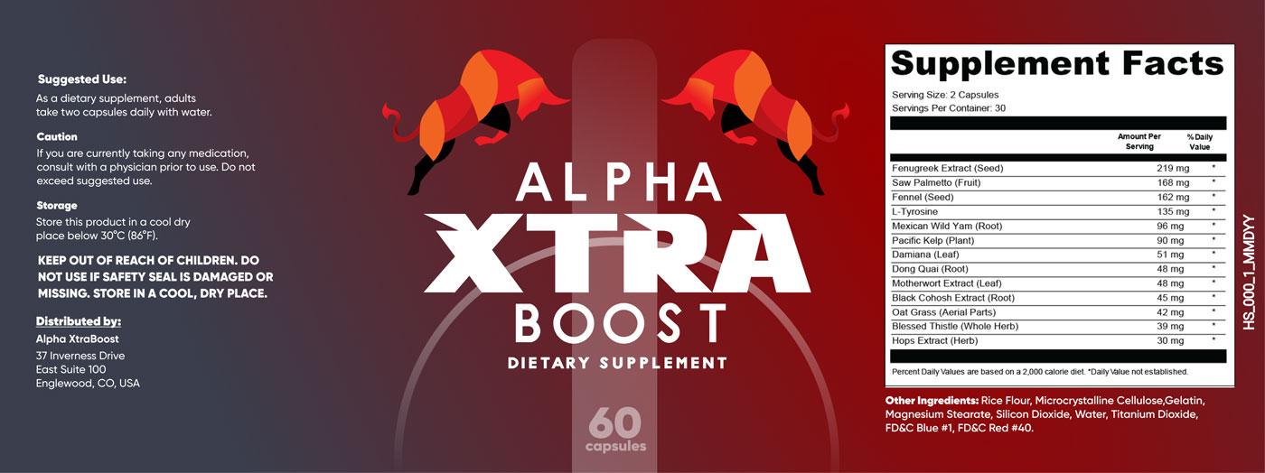 Alpha Xtra Boost Ingredients