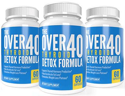 OVER-40 Thyroid Detox Formula